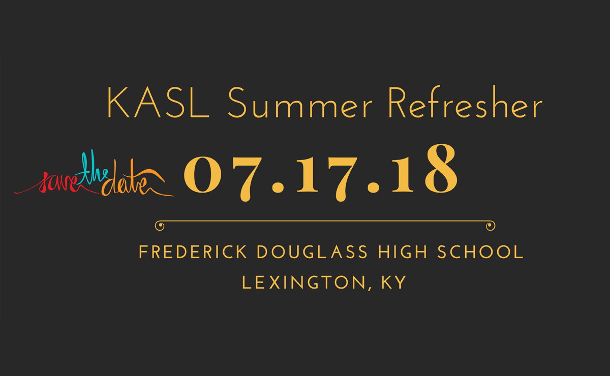 Summer Refresher 7-17-18