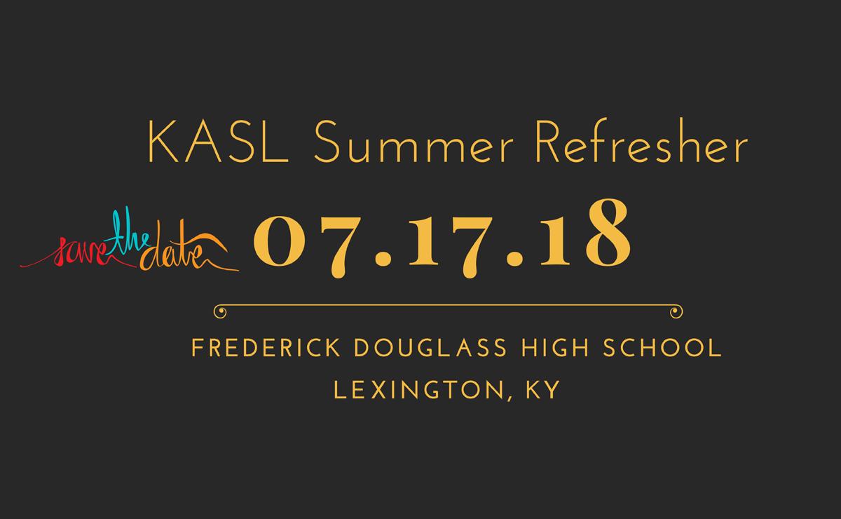 Summer Refresher 7-17-18
