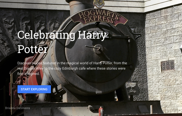 Celebrating Harry Potter Voyager Story
