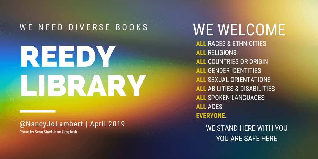 Reedy Library welcome poster